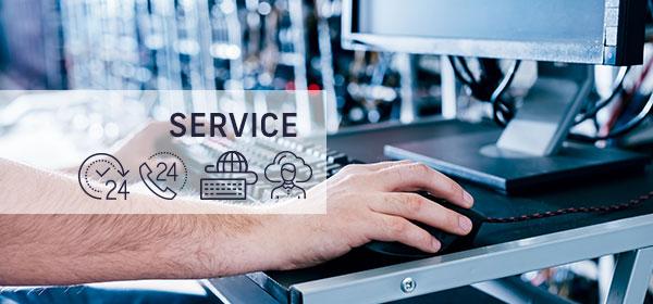 Ablauf bei ITEX - 8. Service & Support
